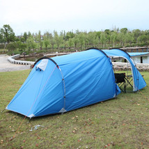 Family Tent Waterproof Four Persons One Living Room Outdoor Camping Mountains  - $99.95
