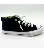 Converse CTAS Street Mid Black Khaki White Kids Sneakers 667212F - $49.95