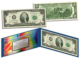 The Worlds First Ever Hologram Genuine Legal Tender U.S. $2 Bill with Folio - $13.81