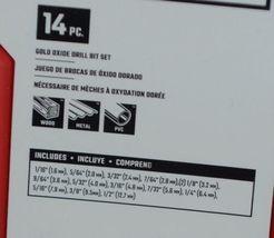 Craftsman CMAM22174 Gold Oxide Drill Bit Set 14 Pieces Storage Case Included image 5