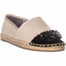 Circus Sam Edelman Loretta Espadrille Flats, Ivory/Black Shoe Size 9 NWOB - $48.71