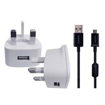 Wall Charger And Usb Cable For Nikon Key Mission 360 4k Ultra Hd Action Camcorder - $9.82