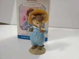 Hallmark Keepsake Ornament TOM KITTEN Beatrix Potter Collection 1999 - $9.50