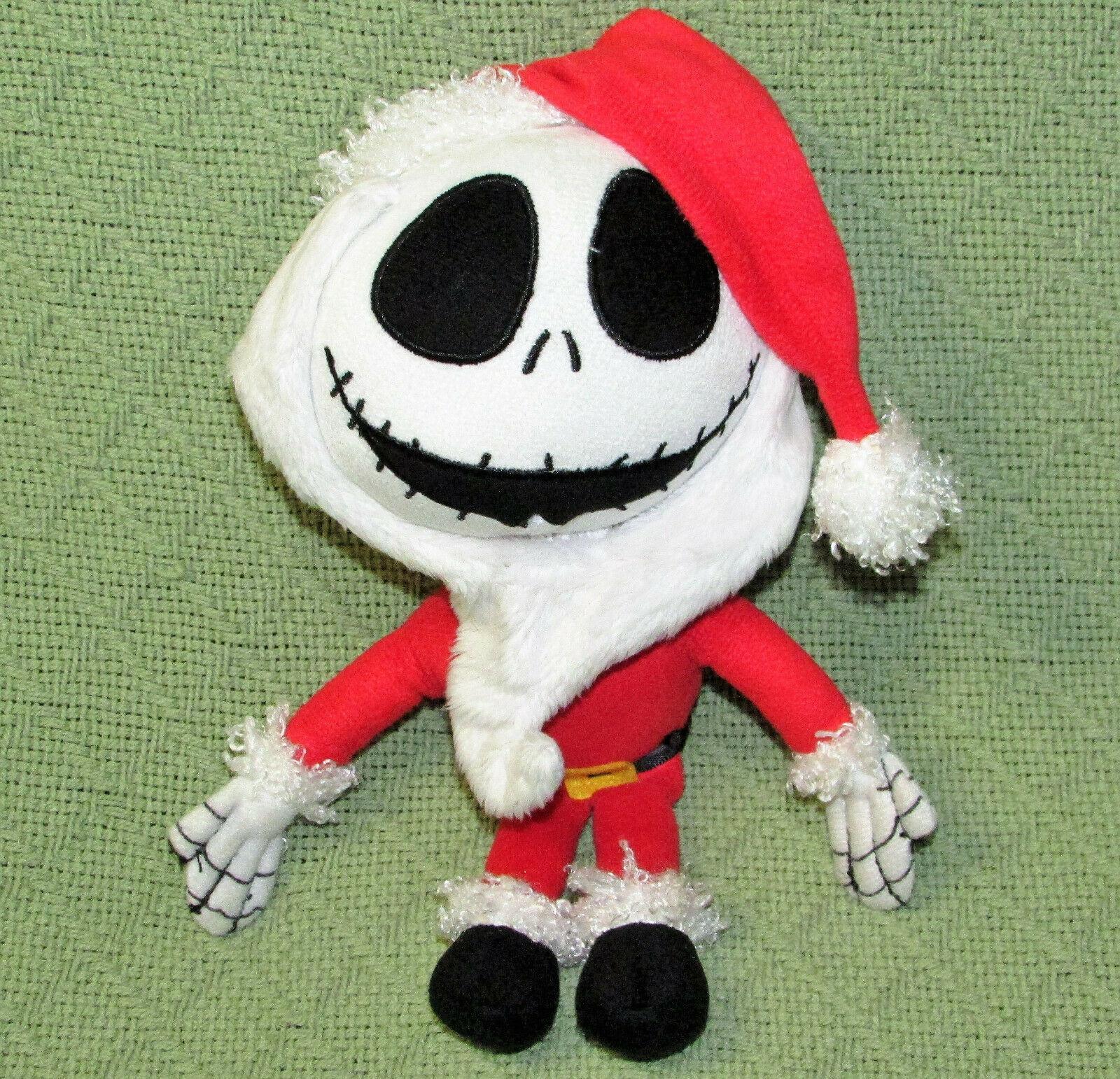 """DISNEY KCARE JACK SKELLINGTON SANTA CLAUS PLUSH NIGHTMARE BEFORE CHRISTMAS 9"""""""