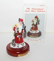 Rare The International Santa Claus Collection Pewter MS18 Weihnachtsmann... - $22.95