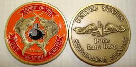 USS BILLFISH SSN-676 SUBMARINE SERVICE CHALLENGE COIN - $27.07