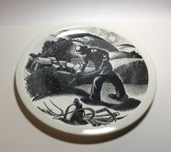Wedgwood New England Industries Farming Plate by Clare Leighton - $79.18