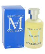 Marilyn Miglin Cool Blend by Marilyn Miglin Cologne Spray 3.4 oz - $41.85