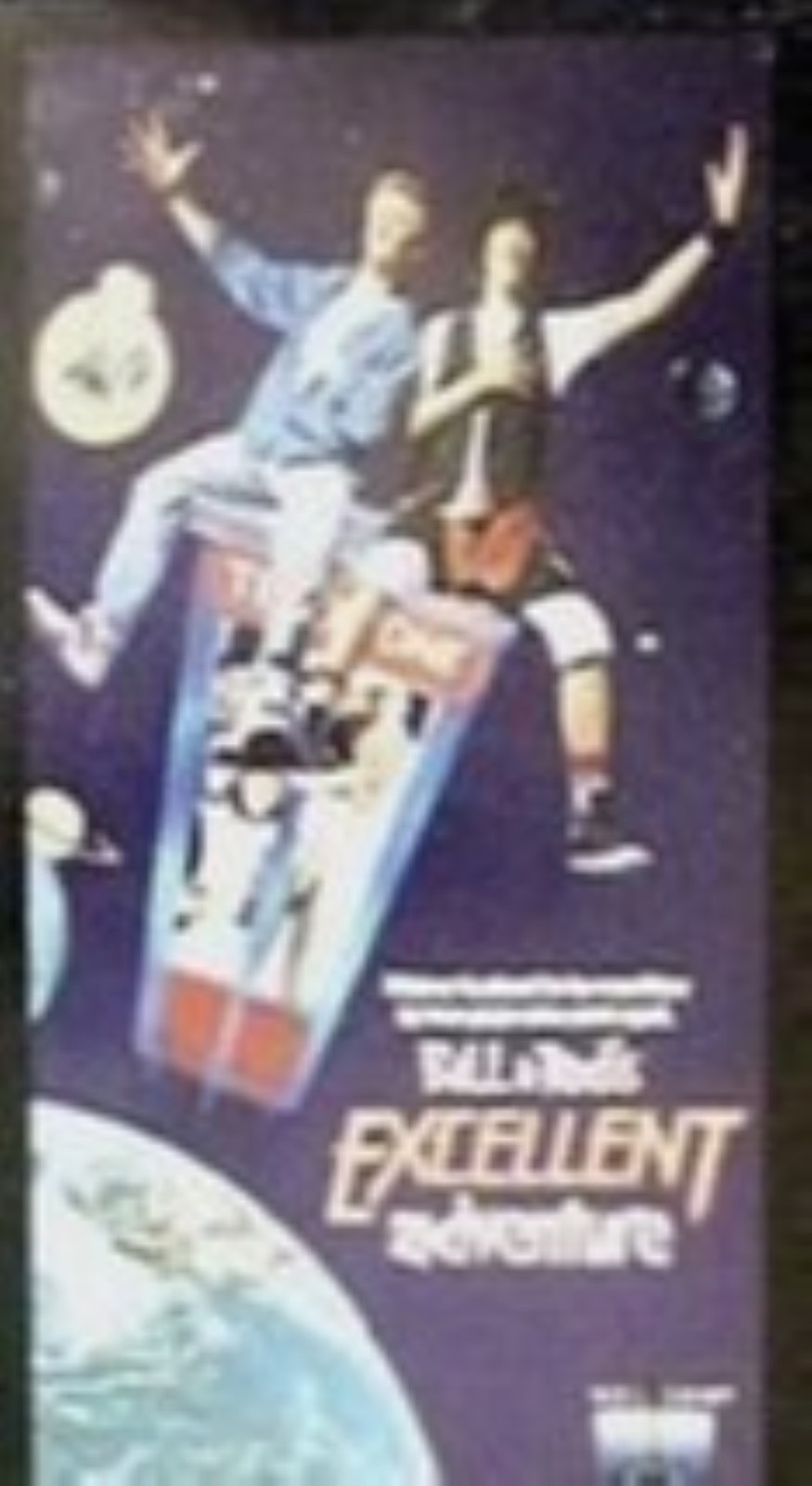 Bll and Teds Exellent Adventure vhs