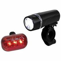 Bike Headlight Taillight LED Cycling Night Safety Travel Battery Power S... - $22.12