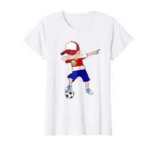 Brother Shirts - Dabbing Soccer Boy Costa Rica Jersey Shirt - Football G... - $19.95+