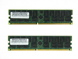 4GB (2X2GB) DDR MEMORY RAM PC2700 ECC REG DIMM 184-PIN