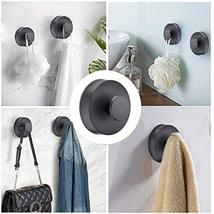 Towel Hooks, Suction Cup Coat/Robe Clothes Hooks,Plastic Wall Hook Removable for image 6