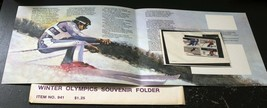 Winter Olympics Souvenir Folder 1980 STAMPS Postage Collection MINT NH - $3.36