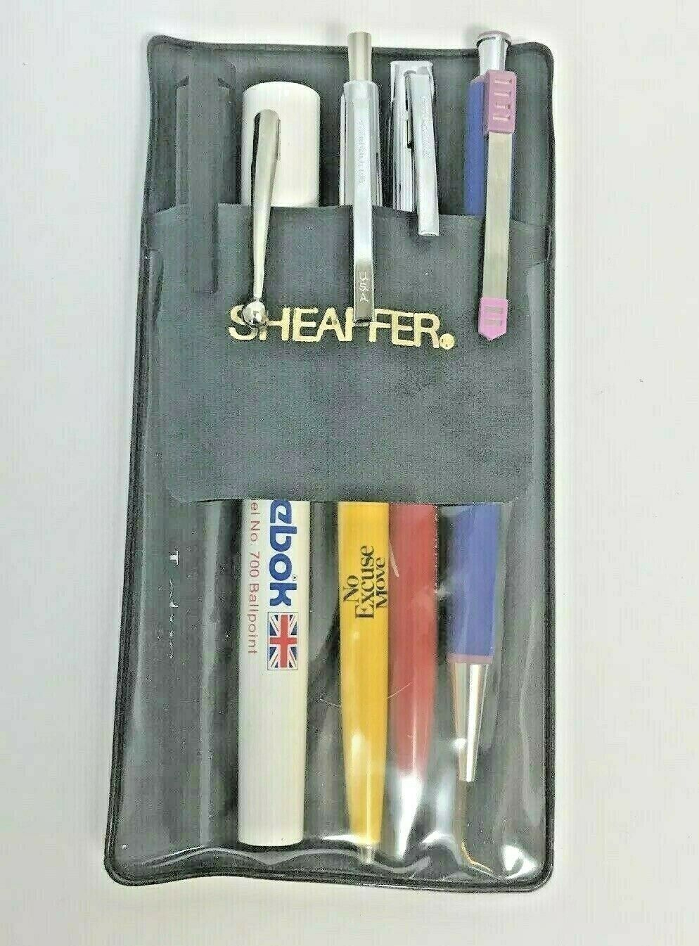 Sheaffer Salesman Sample Pens Advertising Vintage Lot 5 Reebok Speedo Rockwell