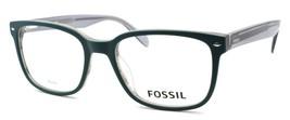 Fossil FOS 7037 PYW Men's Eyeglasses Frames 54-19-145 Matte Teal + CASE - $79.00