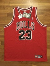 BNWT NWT Authentic Nike 1997-98 Chicago Bulls Michael Jordan Red Jersey 52 XXL - $899.99