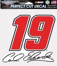 "NASCAR #19 Carl Edwards 8"" x 8"" Perfect Cut Color Decal - $4.95"