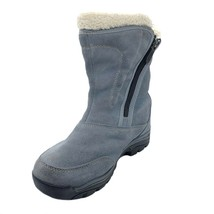 Sorell Water Fall Winter Boots Dust Blue Womens Shoe Size 6 | 3405 - $47.53