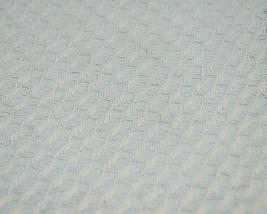 Split P Brand 85180 Light Blue White Sea Twill Weave Tasseled Throw Blanket image 2