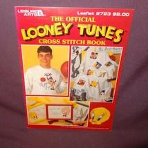 Looney Tunes Cross Stitch Pattern Booklet #2723 1995 Bugs Bunny Tweety Taz - $9.99