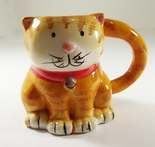 Boston Warehouse Cat Mug Coffee Tea 3D Kitten Cup Earthenware - $9.99