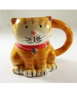 Boston Warehouse Cat Mug Coffee Tea 3D Kitten Cup Earthenware - $4.99