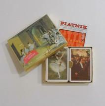 Piatnik Edgar Degas Playing Cards Double Deck Ballerinas 2254 Made In Au... - $14.84