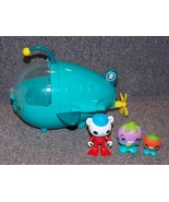 2010 Mattel OCTONAUTS Submarine & Figures Lot - $34.99