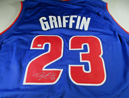 BLAKE GRIFFIN / 2919 NBA ALL-STAR / AUTOGRAPHED DETROIT PISTONS CUSTOM J... - $153.40