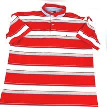 Tommy Hilfiger Men's XXL Multi Color Striped Polo  Short Sleeve  - $17.51