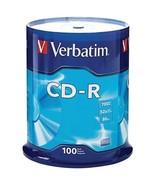 Verbatim 94554 700MB 80-Minute 52x CD-Rs (100-ct Spindle) - $44.60
