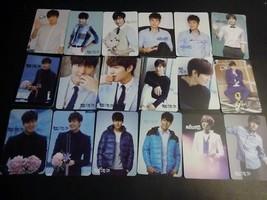 Lee Min Ho 20 pocket photo cards lot Korean actor (printed autograph, pu... - $20.57