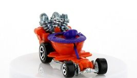 Vintage Loose Hot Wheels Mainline Orange Hot Seat Toilet Go Cart image 4