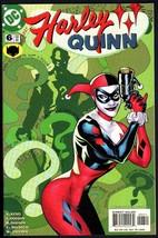 HARLEY QUINN #6 2001-RIDDLER-DC-BATMAN-NICE COVER - $31.53