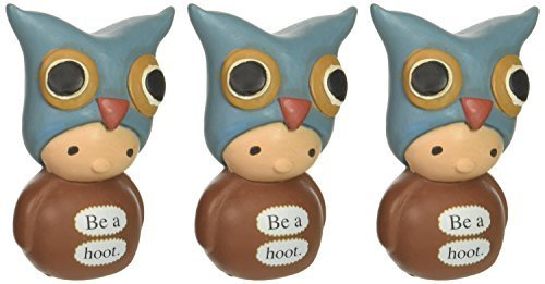 Enesco Bea's Wees by Natalie Kibbe be a Hoot Mini Figurine, 2.75-Inch