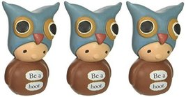 Enesco Bea's Wees by Natalie Kibbe be a Hoot Mini Figurine, 2.75-Inch