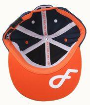 Flat Fitty New York On Top Navy Orange Wiz Khalifa Snapback Baseball Hat Cap NWT image 7