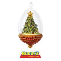 Christmas Tree Dome 2016 Hallmark Heritage Blown Glass Ornament in Poland - $42.52