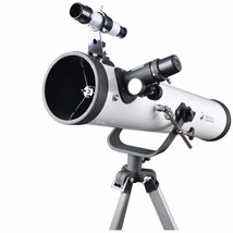 Solomark 76700 Reflector Telescope with Tripod and 1.25 Inch 10mm Eyepie... - $136.97