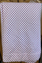 Pottery Barn Kids PBK Audrey Chenille Polka Dot Lined Curtain Panel Pink... - $24.74