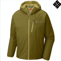 Columbia Men's M XL Redrock Falls Jacket Hooded Waterproof Omni Heat Mos... - $69.97