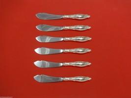 "Mille Fleurs by International Sterling Trout Knife Set 6pc. HHWS  Custom 7 1/2"" - $418.10"