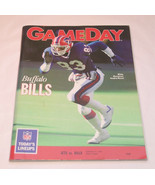 NFL New York JETS Gameday Magazine 1990 Jets vs Bills Football Magazine ... - $5.99