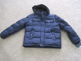 BNWT Tommy Hilfiger Mid Midnight mens Navy puffer jacket, wind resistant... - $93.15