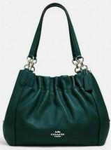 Coach C1454 Maya Leather Shoulder Bag-Dark Ivy-Silver Hardware- MFSRP $450-NWT - $242.50