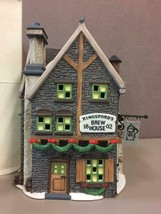 KINGSFORD'S BREW HOUSE, DICKENS VILLAGE #58114, Dept. 56, IN ORIGINAL BOX - $41.57