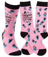 Adult Novelty Socks Queen of Damn Near Everything - $9.95