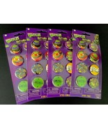 Teenage Mutant Ninja Turtles Buttons 32 Count Party Supplies American Gr... - $11.29