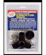 SQUEEEEEK NO MORE Screw Kit 3233 Stops Repairs & Eliminates Floor Squeak... - $24.19